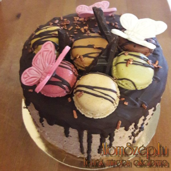 Macaron torta